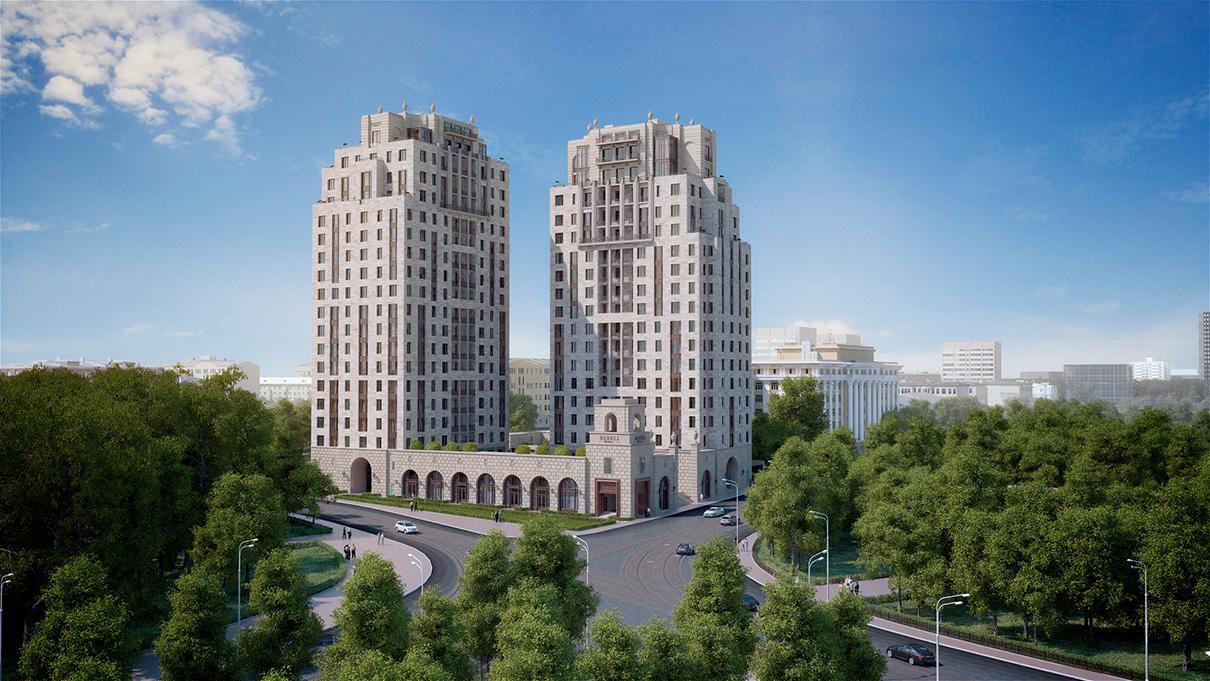 Высотный дом Barkli Residence находится на улице Орджоникидзе. В состав элитного жилого комплекса входят связанные общим стилобатом башни West и East (17–18 этажей). В каждой из башен установлено по три лифта. Площади апартаментов — до 125 кв. м. В доме есть спортивный центр, продовольственные магазины, банк, салон красоты, room-service, химчистка, ресторан, детский игровой клуб, а также трехуровневый подземный паркинг. Подробнее...