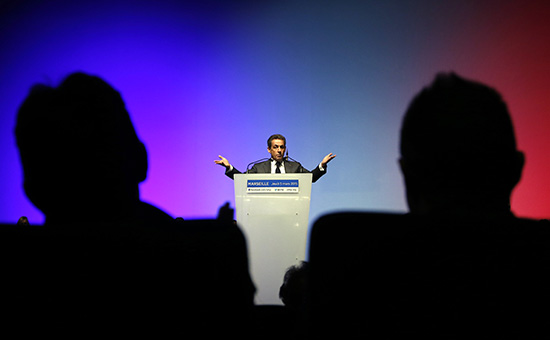 Французский политик Николя Саркози