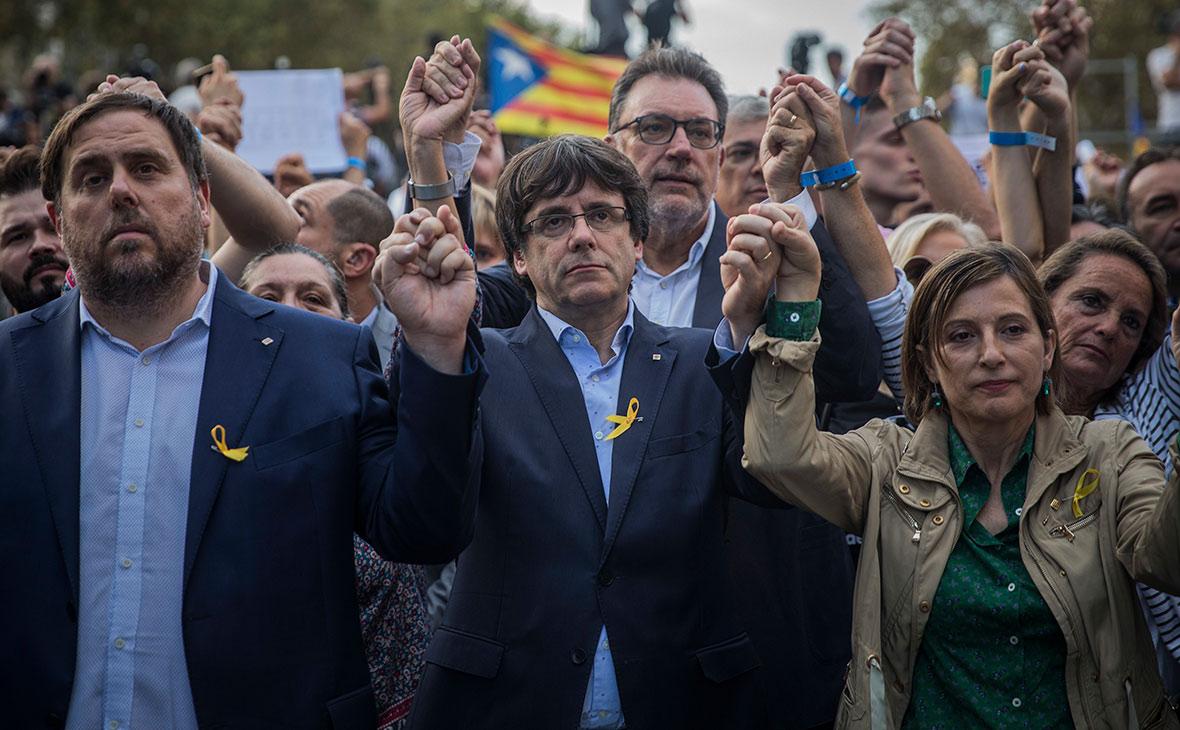 Пучдемон назвал действия Мадрида сквернейшими со времен диктатуры Франко