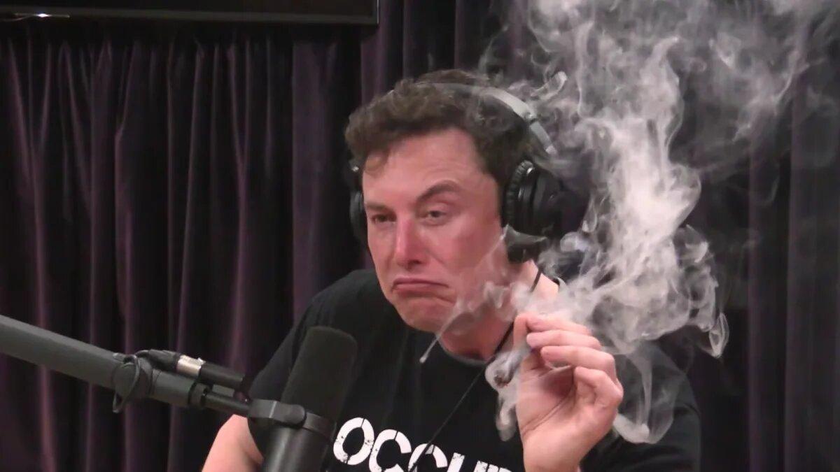 После курения Маском марихуаны в прямом эфире акции Tesla потеряли в цене 10%