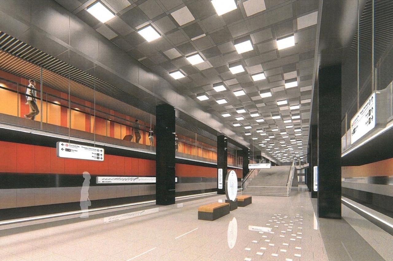 Проект станции «Проспект Вернадского»