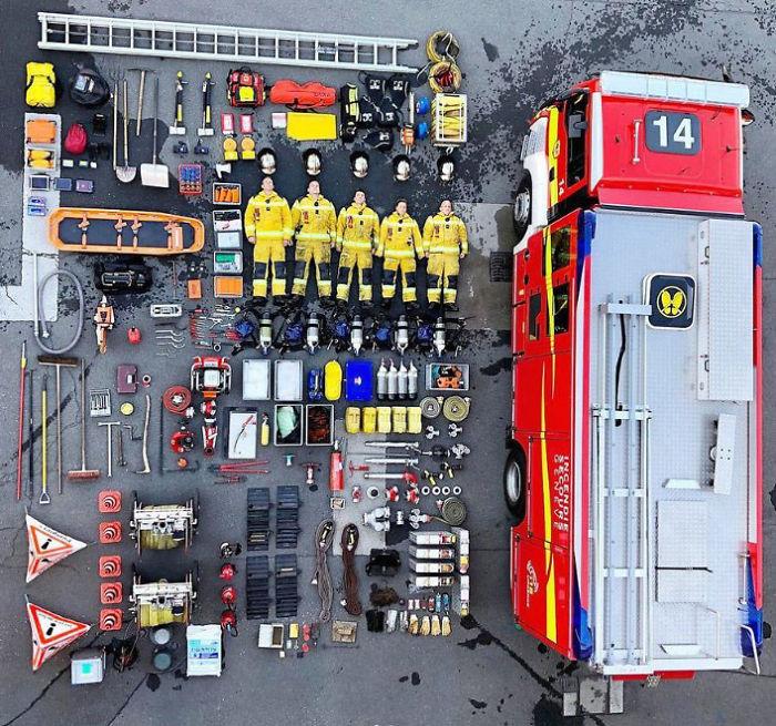<p>Пожарные в Швейцарии</p>
