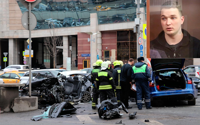 <p>Авария с участием блогера Эдварда Била на Садовом кольце в Москве произошла утром 1 апреля. Автомобиль Била Audi RS6 выехал на встречную полосу и протаранил четыре машины.</p>