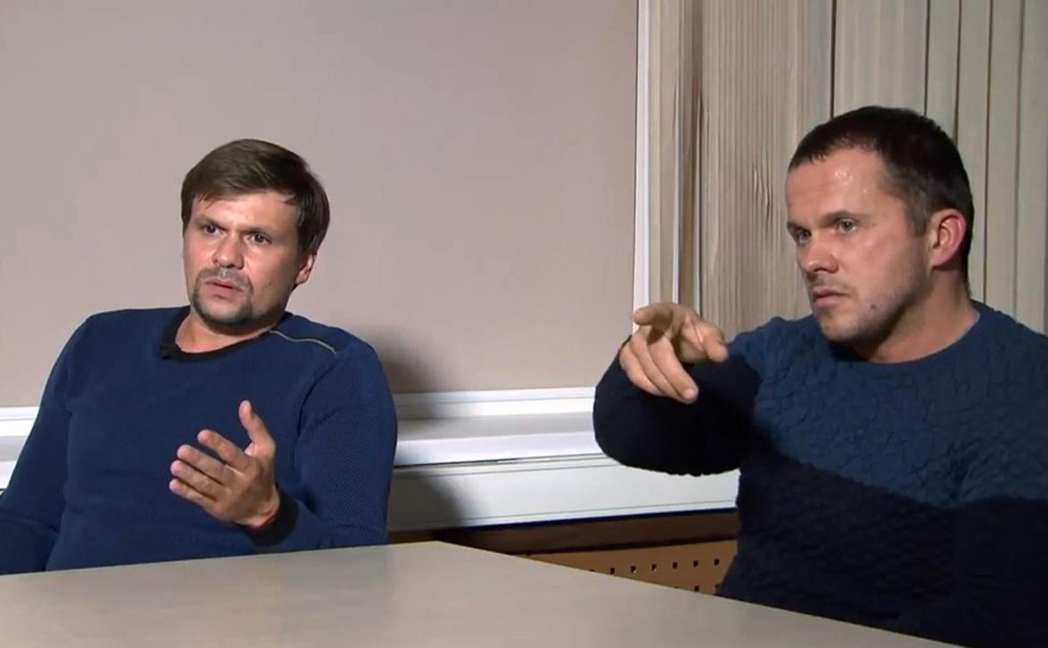 Руслан Боширов и Александр Петров (слева направо)