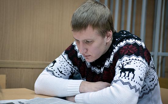 Бывший топ-менеджер Банка Москвы Константин Сальников, обвиняемый вхищении более миллиарда рублей
