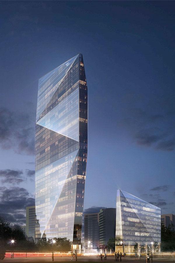 Проект строительства Центра международной торговли