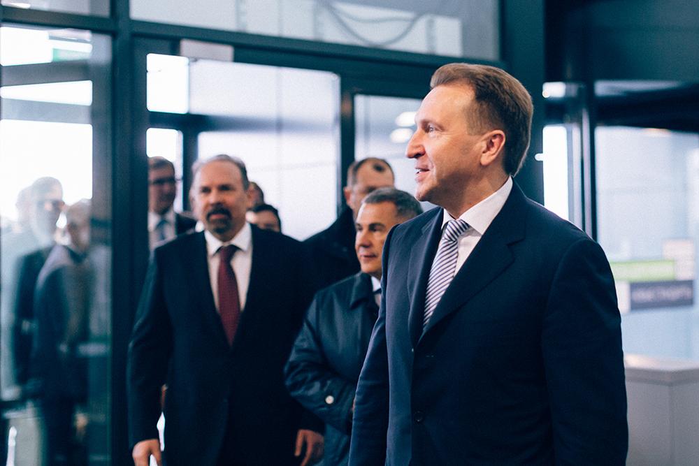 Вице-премьер правительства России Игорь Шувалов