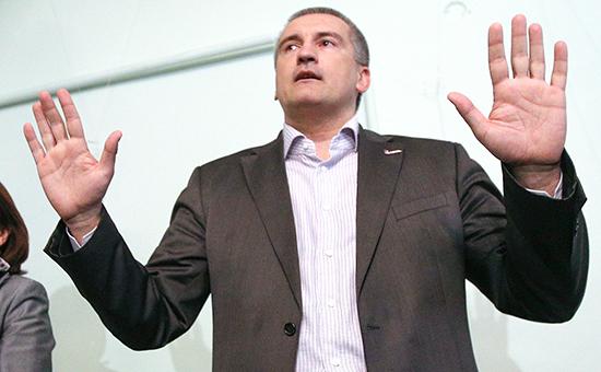 Премьер-министр Крыма Сергей Аксенов
