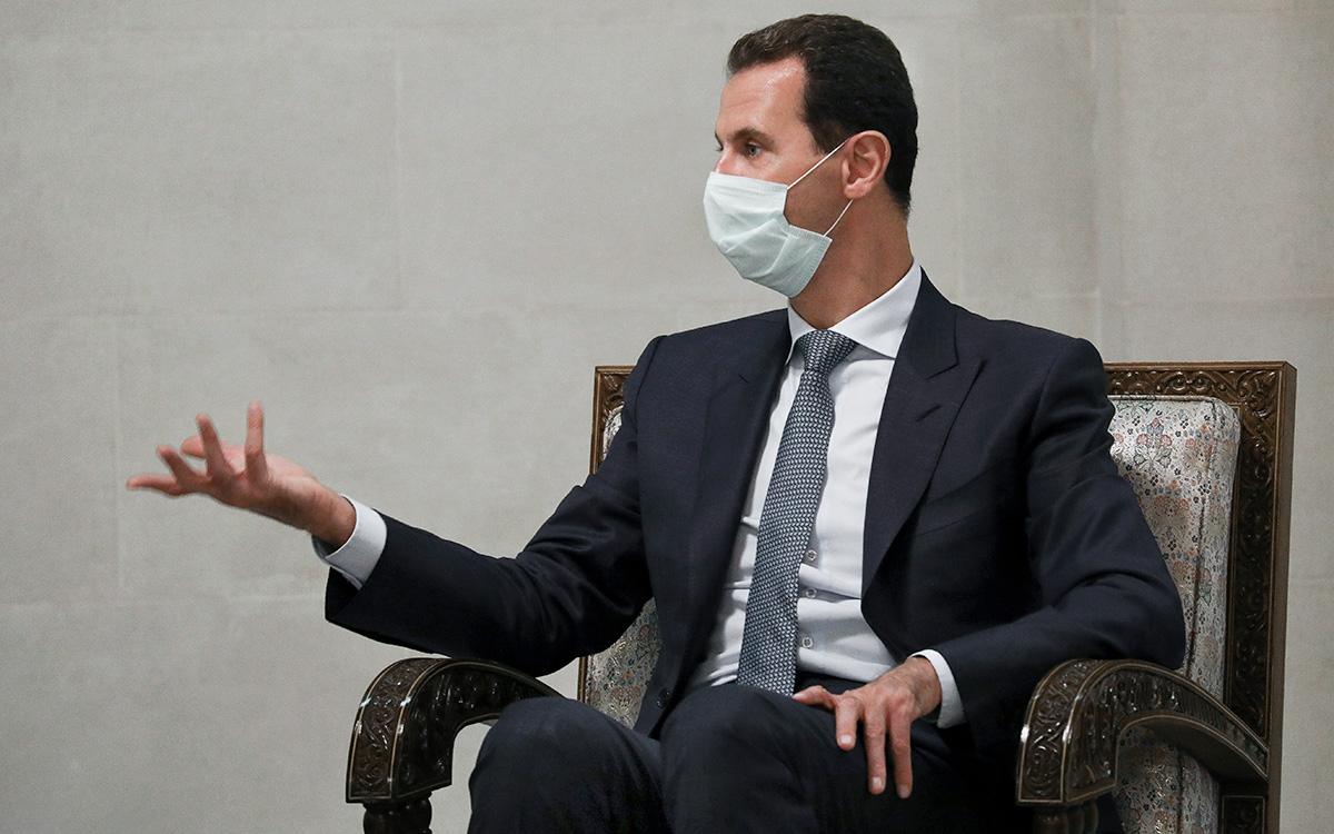Асад заразился коронавирусом