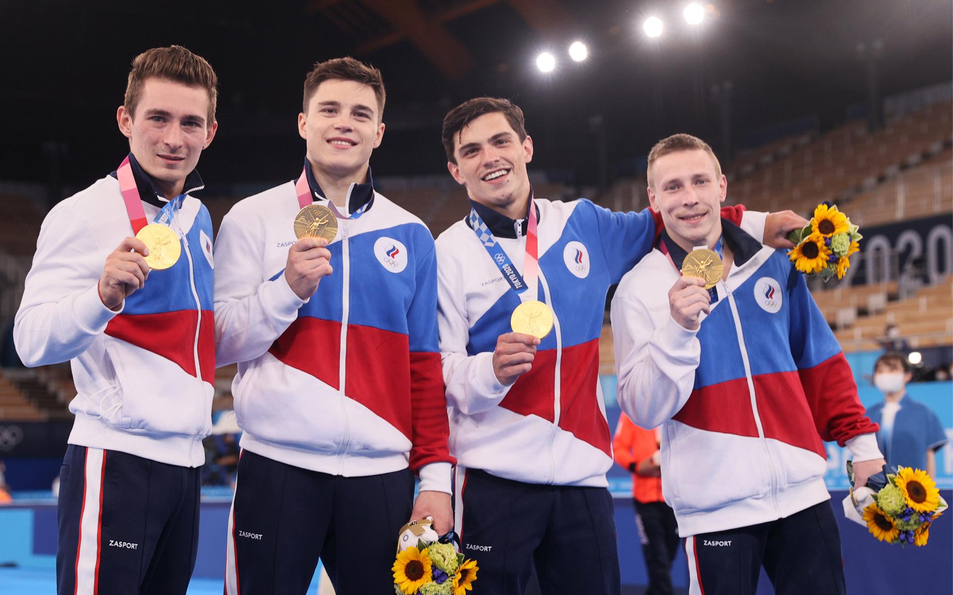 Фото: Мужская сборная России по спортивной гимнастике (Сергей Бобылев/ТАСС)