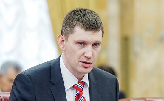 Руководитель Департамента экономической политики и развития города Максим Решетников