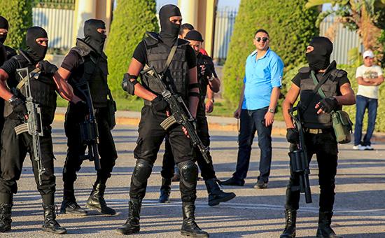 Сотрудники египетских спецслужб. Архивное фото