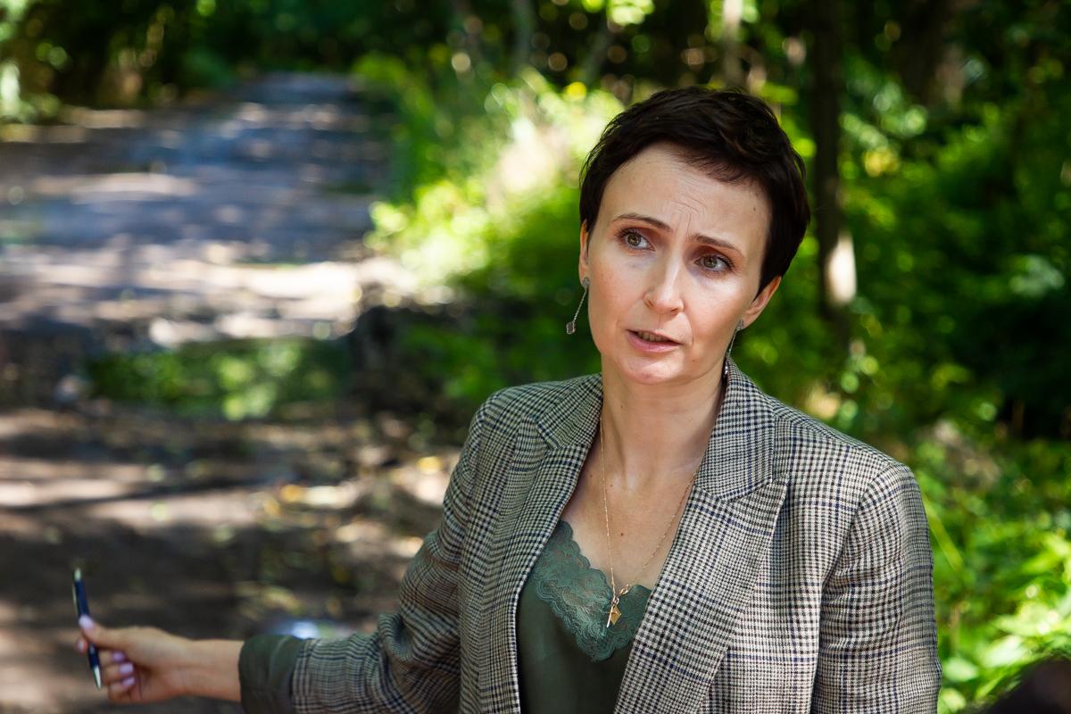 На фото: заместитель председателя правительства региона Наталья Сибирева