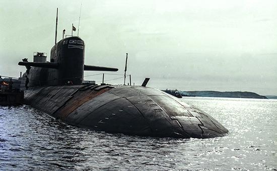 Атомная подводная лодка Северного флота «Новомосковск», 1998 год