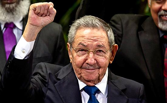 Председатель совета министров Кубы Рауль Кастро