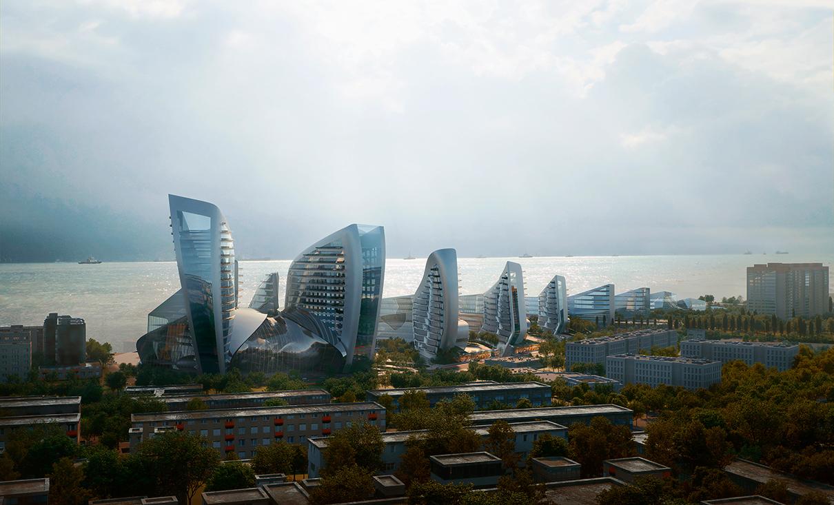 Фото:Zaha Hadid Architects via Агенство «Центр»Zaha Hadid Architects via Агентство «Центр»