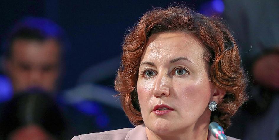 Заместитель председателя Центрального банка Российской Федерации (Банк России) Ольга Полякова