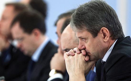 Министр сельского хозяйства Александр Ткачев на заседании правительства РФ