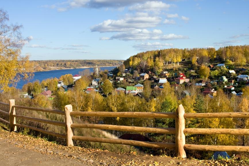 Один из немногих примеров удачного развития малых городов в России - Плёс Ивановской области
