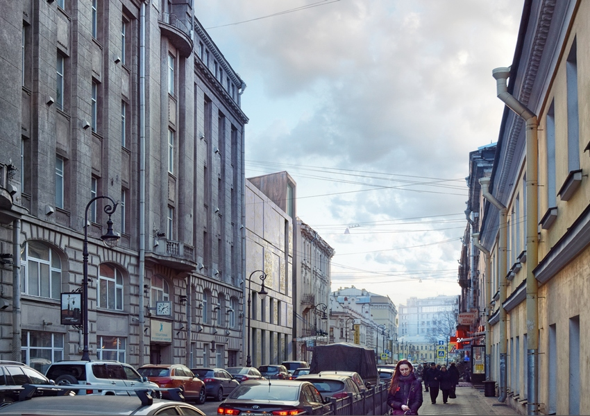 По проекту Герасимова прилегающие улицы будут включены в жизнь музея Достоевского