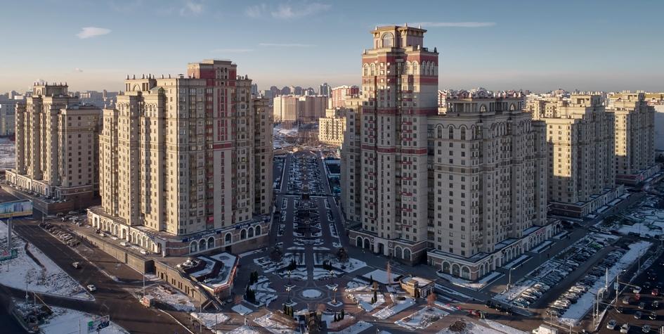 Жилой комплекс «Шуваловский» в Москве
