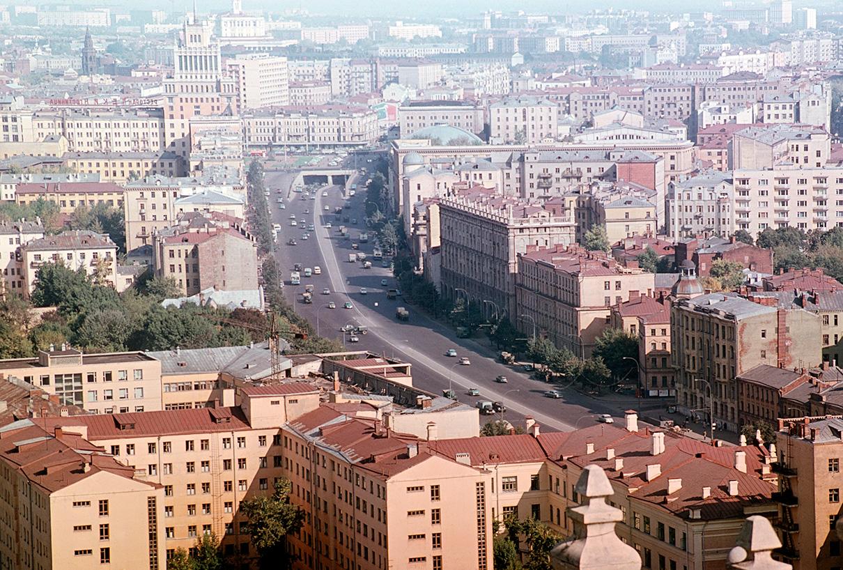 Большая Садовая улица. 1968 год