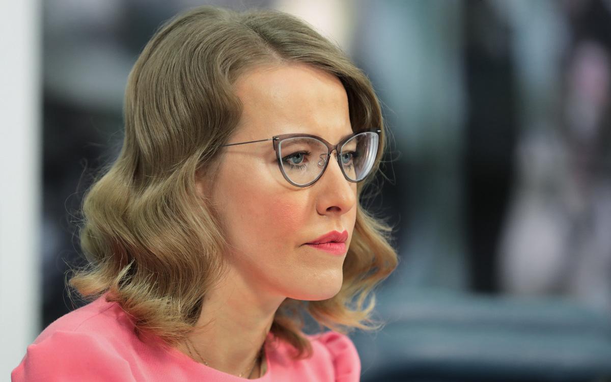 Собчак приехала на допрос по делу о смертельном ДТП в Сочи