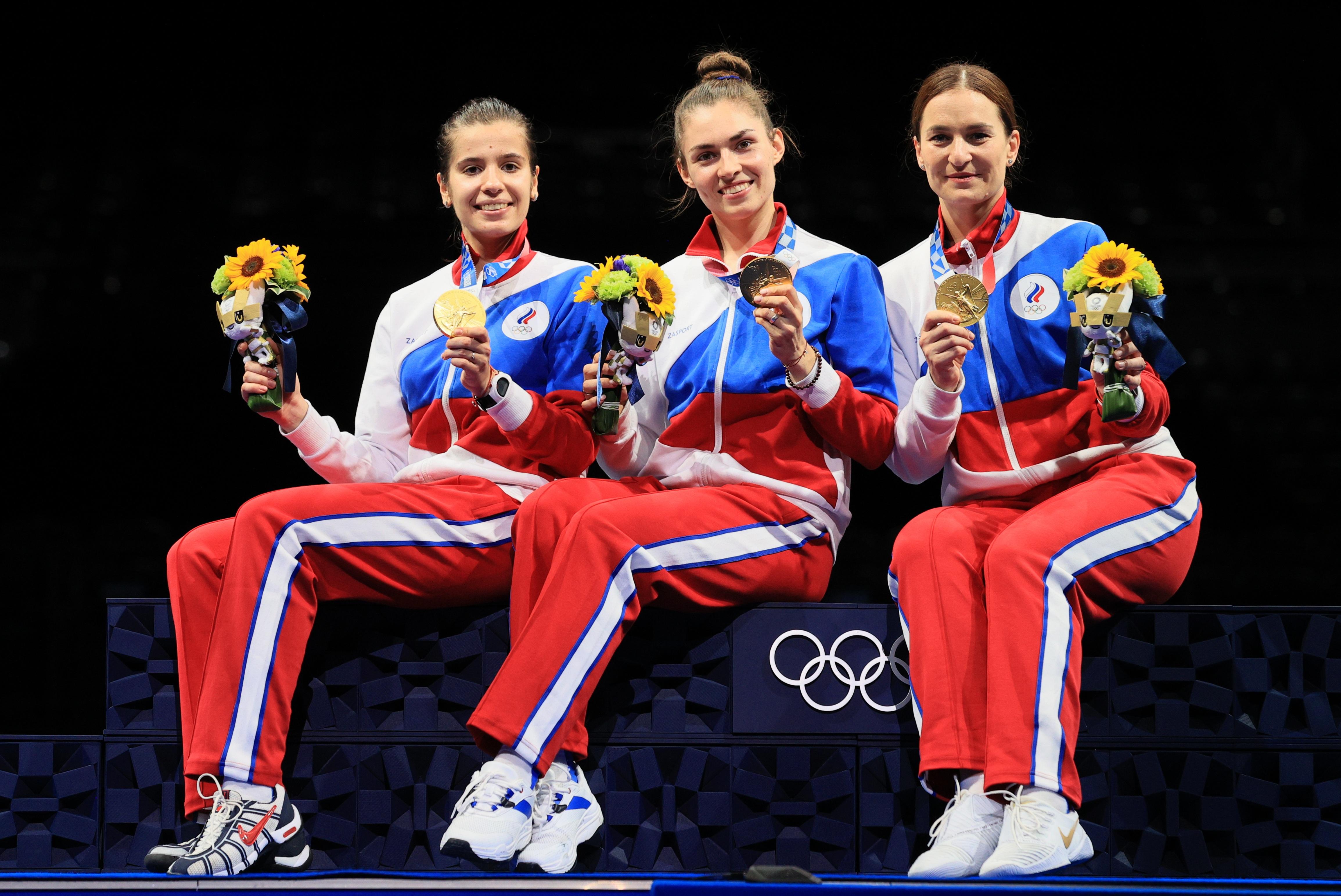 Фото: Ольга Никитина, Софья Позднякова и Софья Великая (Сергей Бобылев/ТАСС)
