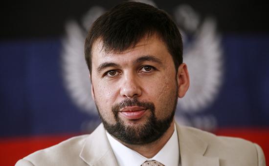Вице-спикер народного совета самопровозглашенной ДНР Денис Пушилин