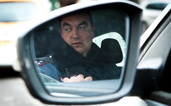 Сотрудник скрытого патруля ДПС