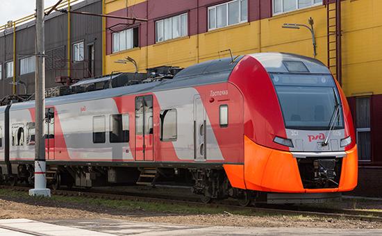 Пригородный поезд «Ласточка»