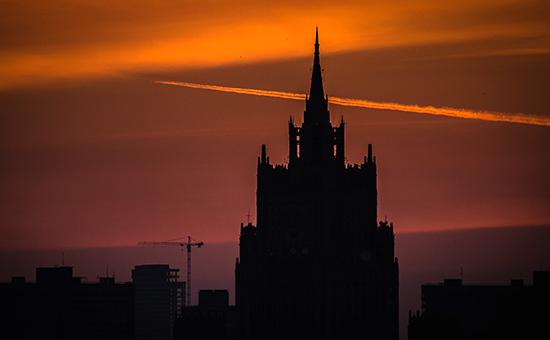 Москва. МИД России