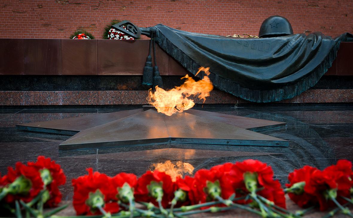 Открытка могила неизвестного солдата москва, надписью