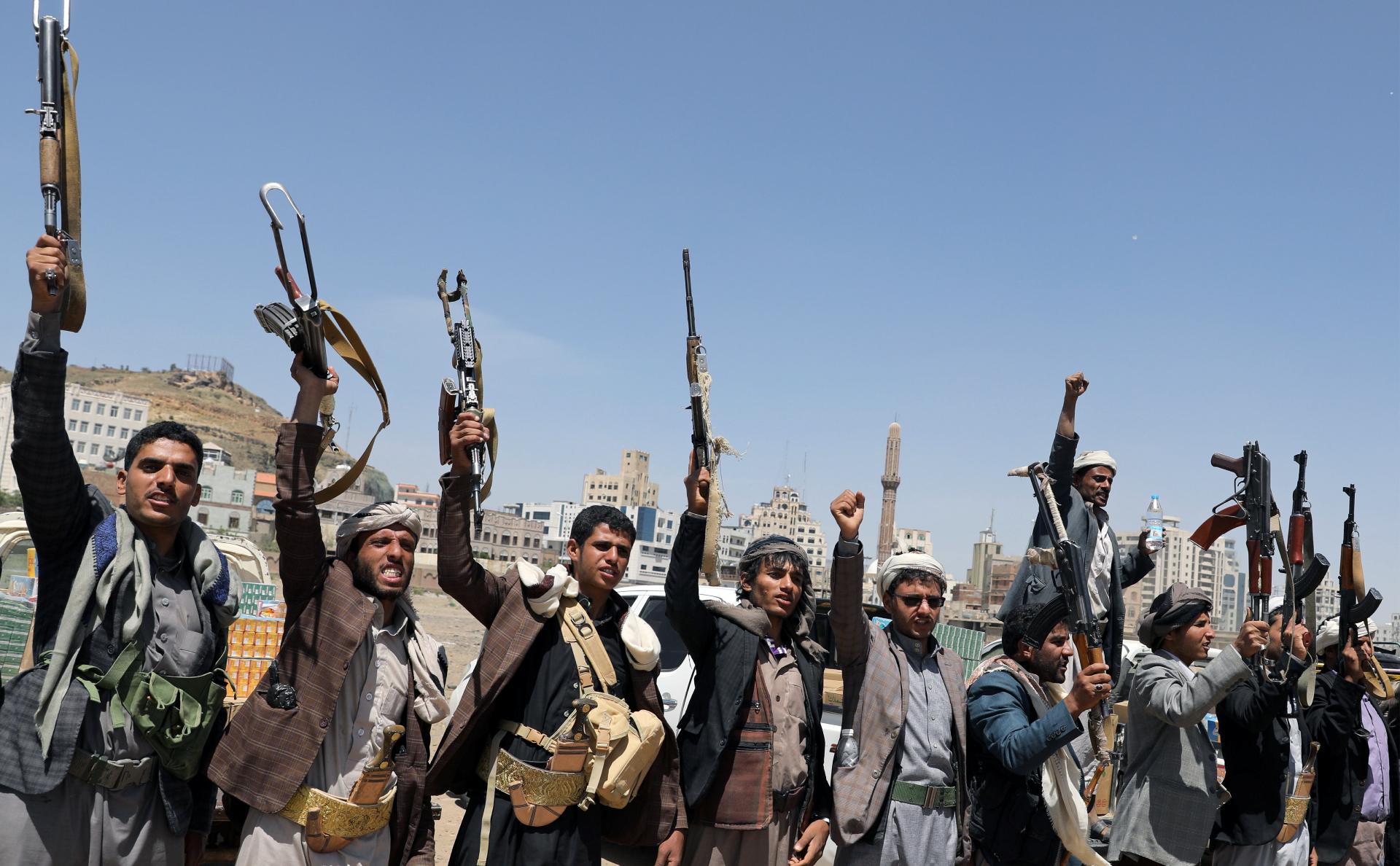 повстанцы-хуситы