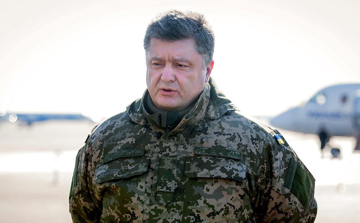 Порошенко поручил подготовиться к смене формата операции в Донбассе