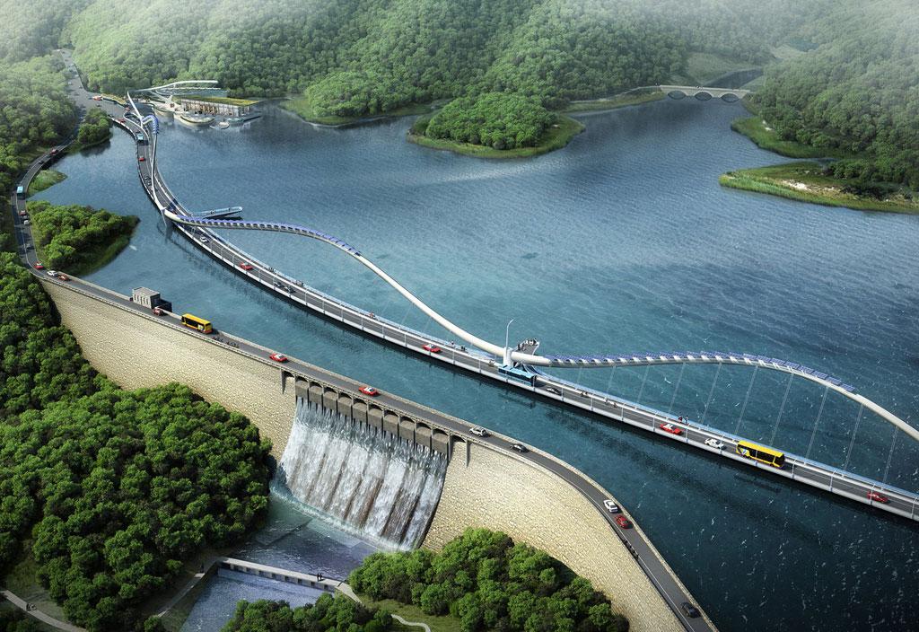 Инфраструктурный проект, по мнению авторов, должен решить транспортные проблемы в этой районе Гонконга