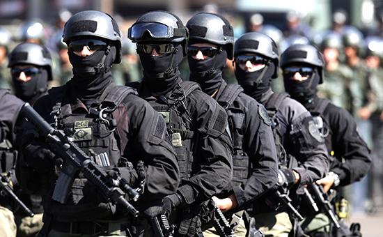 Спецназ бразильской полиции