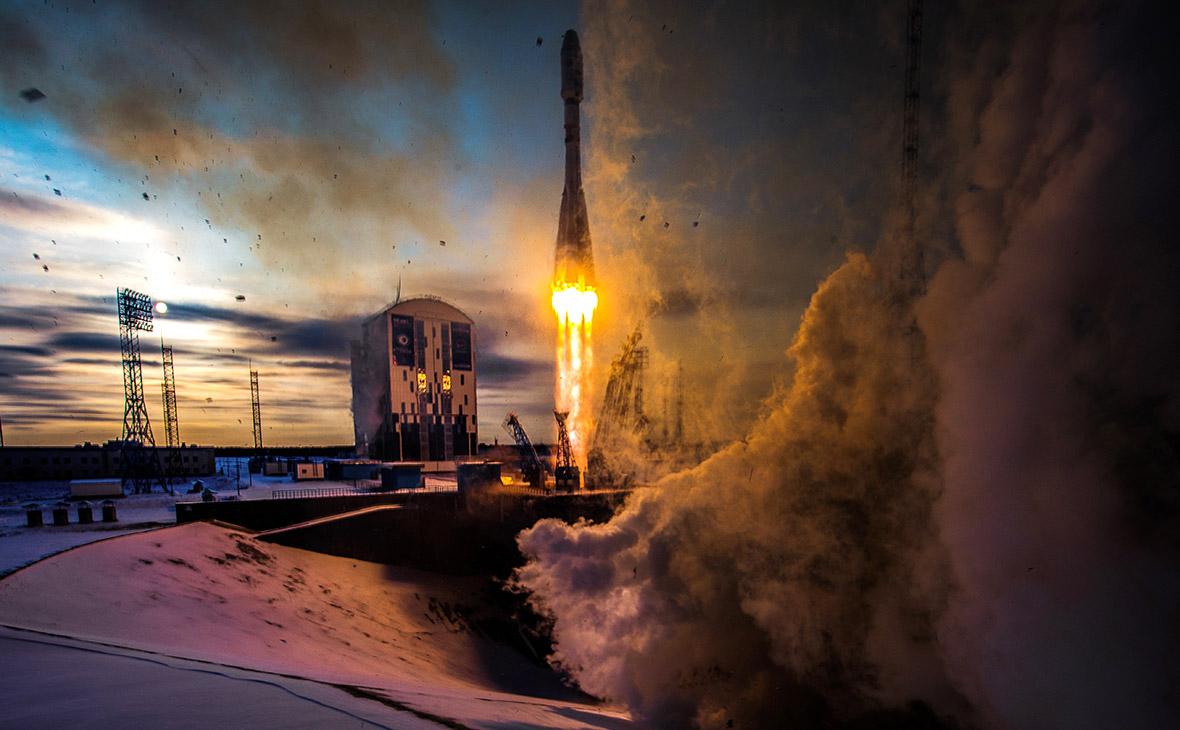 Запуск ракеты-носителя «Союз». 28 ноября 2017 года