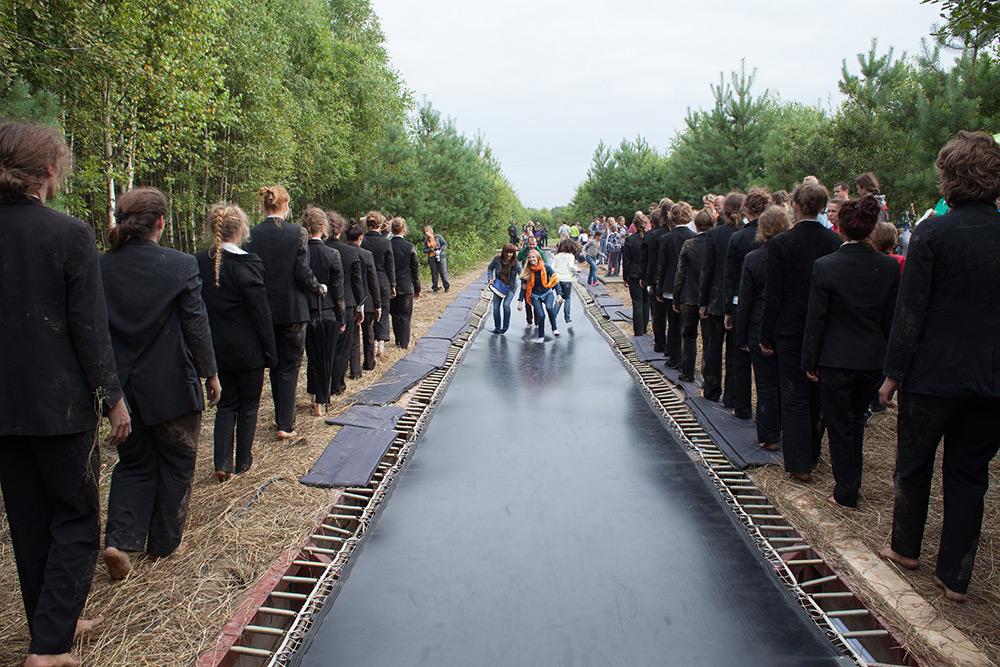 «Скорая тропа», Salto Architects. 2012 год