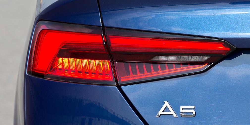 Светодиодные задние фонари –стандартное оснащение для всех версий А5