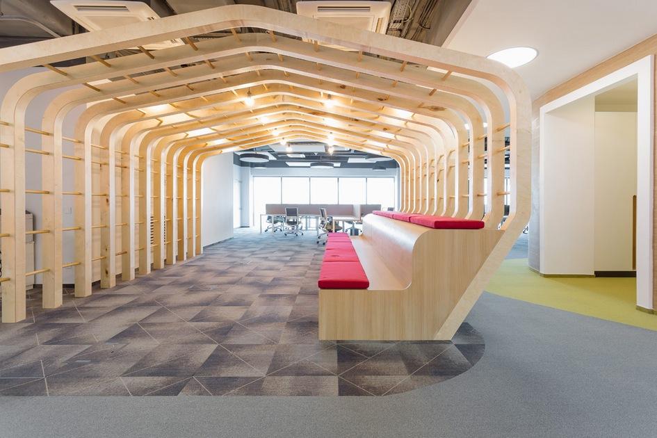 Номинация «Гибкий офис» За креативность: Сбербанк / 15-й этаж / архитектурное бюро IND Architects
