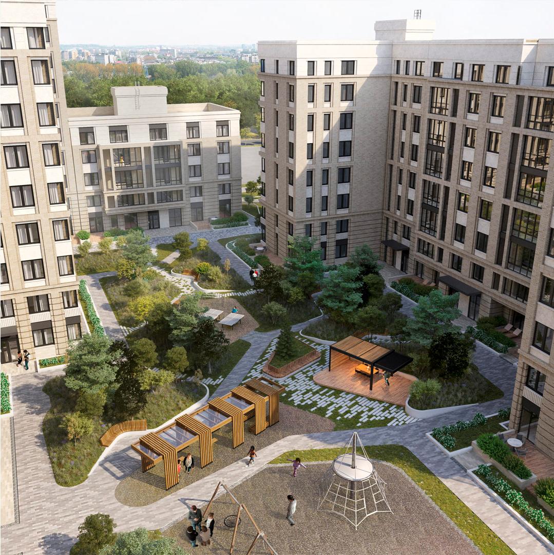 Проект ЖК в Екатеринбурге