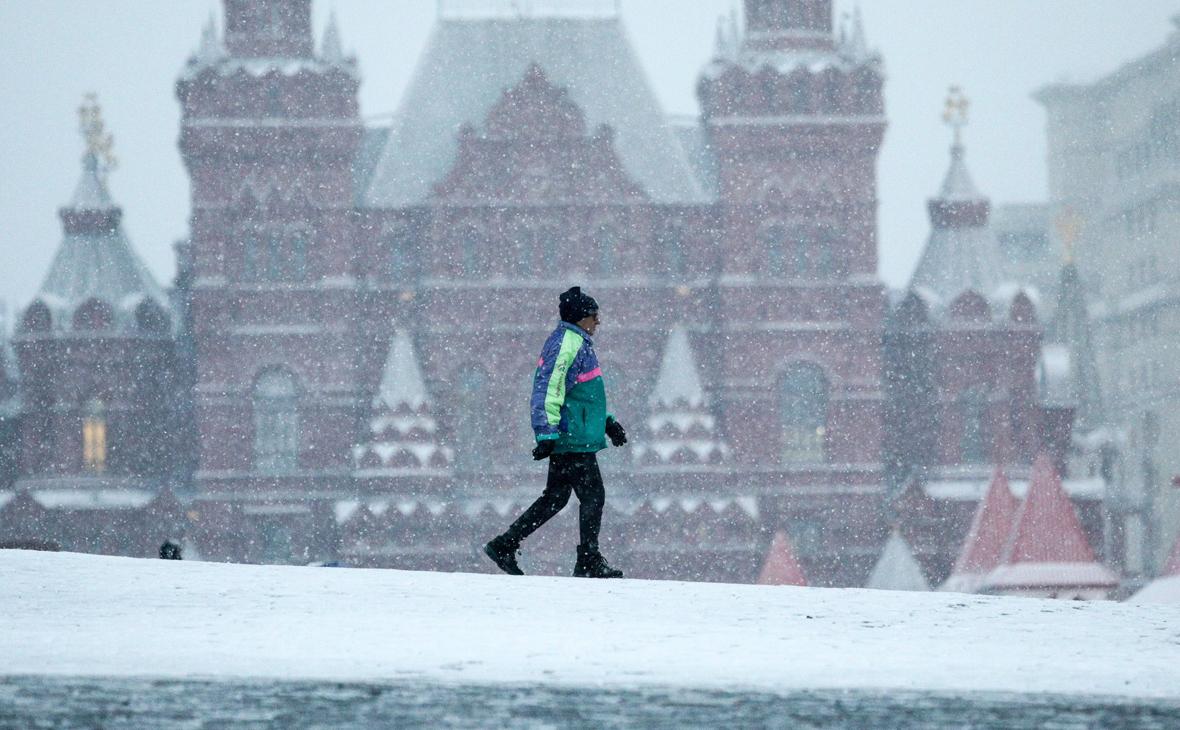 Синоптик предупредил о надвигающейся на Москву со снегопадами Грете