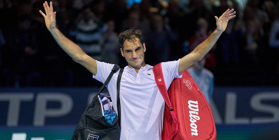 Роджер Федерер упустил победу в полуфинале итогового турнира АТР