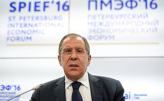 Глава МИДа Сергей Лавров