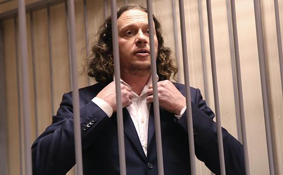 Бизнесмен Сергей Полонскийв Пресненском суде