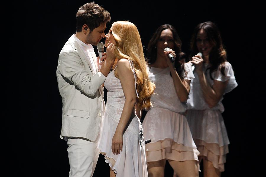 Победители «Евровидения-2011» Ell & Nikki (Азербайджан)