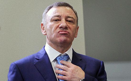 Российский бизнесмен Аркадий Ротенберг