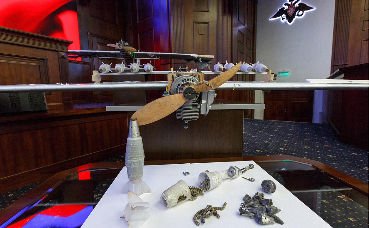 Беспилотные летательные аппараты, совершившие налет на российские военные объекты в Сирии в ночь на 6 января