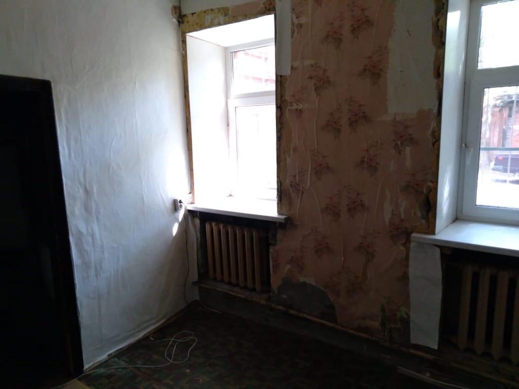 Квартира в доме на Садовнической улице площадью 13,6 «квадратов». Это самый доступный вариант. Начальная цена— 3,3 млн руб.